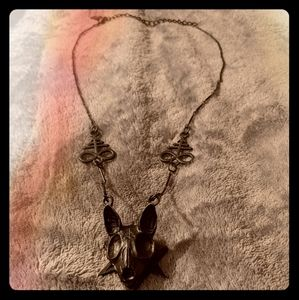 Restyle Sphinx Skull Necklace